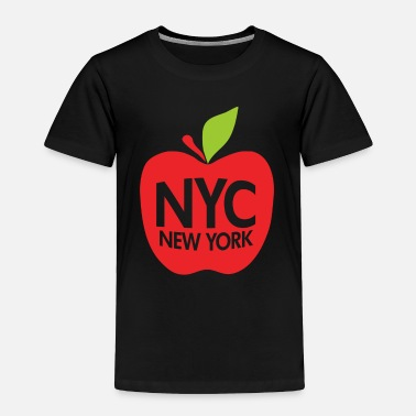 Big Apple Green Big Apple NYC - Toddler Premium T-Shirt