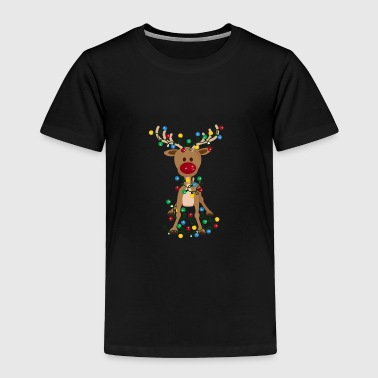 Adorable Reindeer-Christmas-Reindeer-Adorable - Toddler Premium T-Shirt