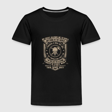 Iron Worker T Shirt - Toddler Premium T-Shirt