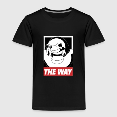 OBEY THE WAY Ugandan knuckles - Toddler Premium T-Shirt