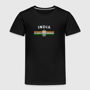 India Indian Flag Shirt - Indian Emblem & India Flag Shi - Toddler Premium T-Shirt