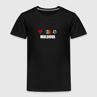 Moldova Football Shirt - Moldova Soccer Jersey - Toddler Premium T-Shirt