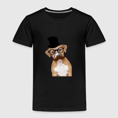 Smart Boy smart dog - Toddler Premium T-Shirt