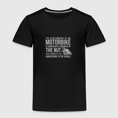 Handlebars To The Saddle - Toddler Premium T-Shirt