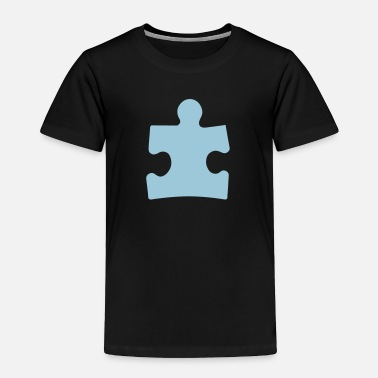 Autism Awareness Autism Puzzle Piece - Toddler Premium T-Shirt