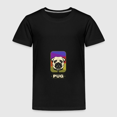 New Year Pug - Toddler Premium T-Shirt