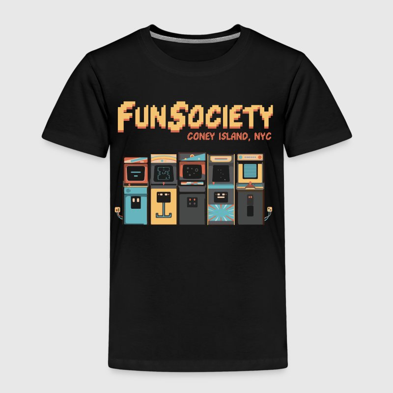 Fun Society | mr-robot.tv - Toddler Premium T-Shirt