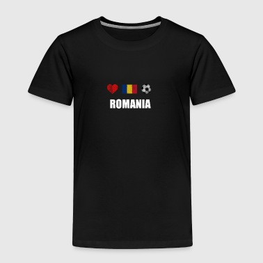 Romania Romania Football Shirt - Romania Soccer Jersey - Toddler Premium T-Shirt