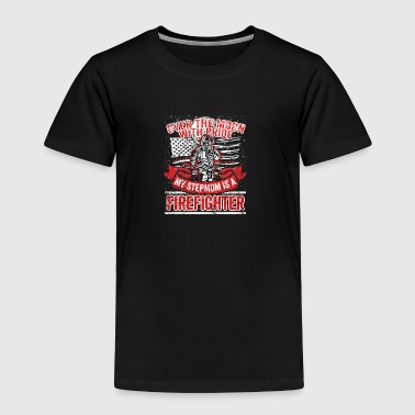 Stepmom Firefighter Stepmom Support Proud Family - Toddler Premium T-Shirt