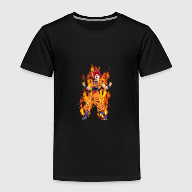 Goku Super Saiyan God - Toddler Premium T-Shirt