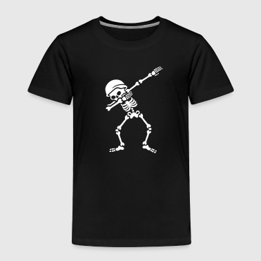 Soldier skeleton dab /dabbing - Toddler Premium T-Shirt