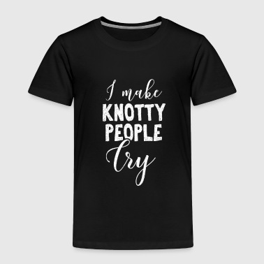 Massage I Make Knoty People Cry Gift - Toddler Premium T-Shirt
