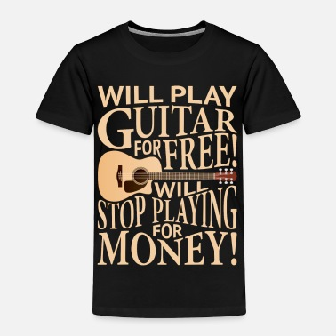 Sg Guitar Funny Guitar Player Gift - Toddler Premium T-Shirt