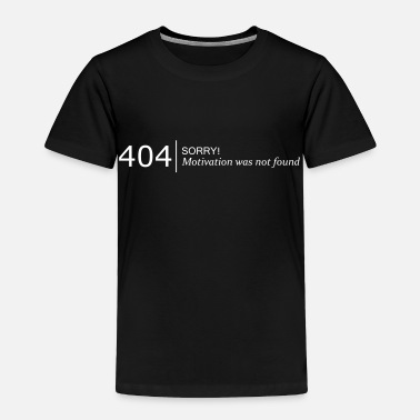Funny 404 not found - Toddler Premium T-Shirt