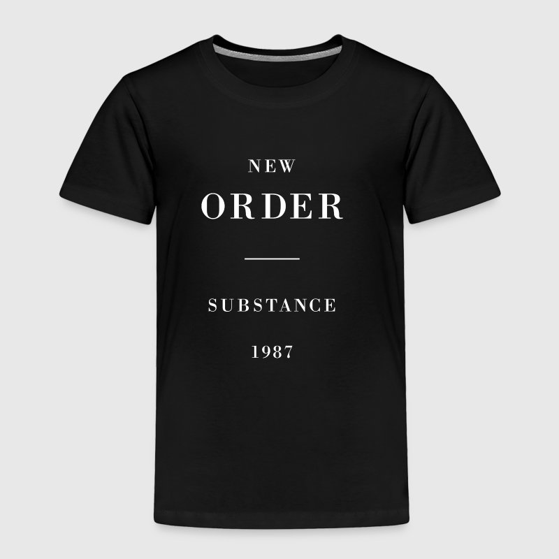 New Order Substance 1987 - Toddler Premium T-Shirt