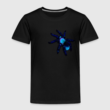 Big Blue Spider - Toddler Premium T-Shirt