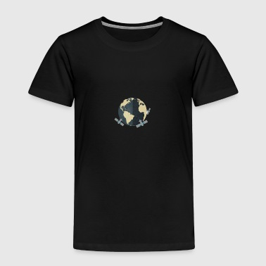 World world - Toddler Premium T-Shirt