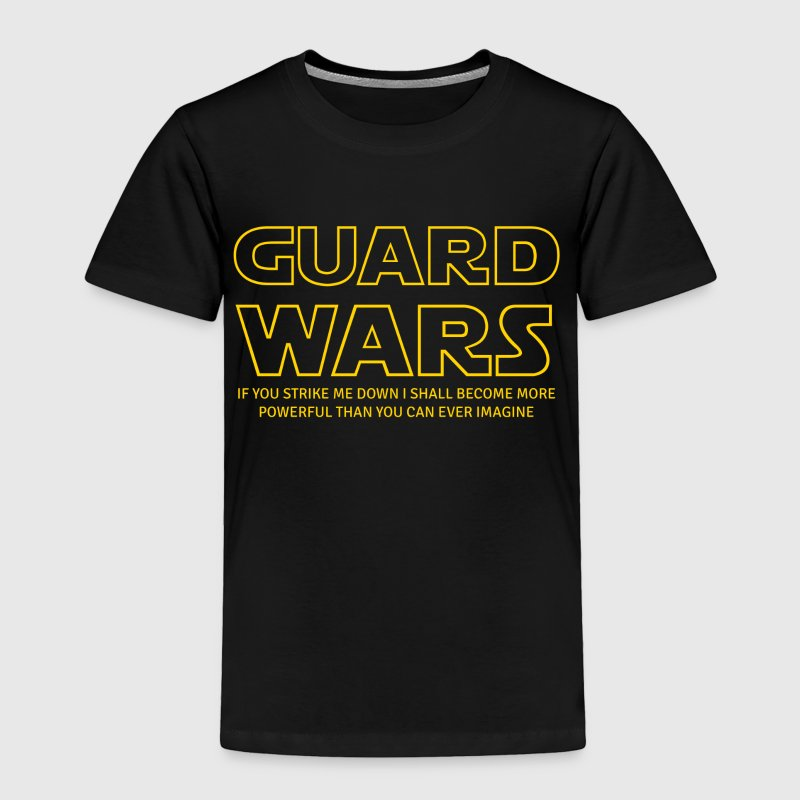 Guard Wars Brazilian Jiu-Jitsu T-shirt - Toddler Premium T-Shirt