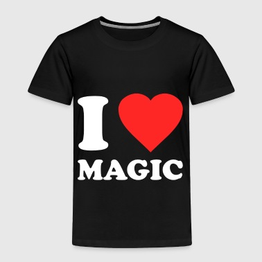 I Love Magic - Toddler Premium T-Shirt