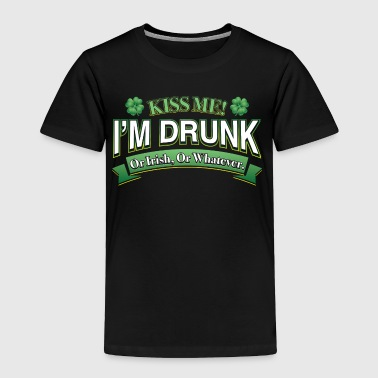 KISS ME IM DRUNK OR IRISH - Toddler Premium T-Shirt