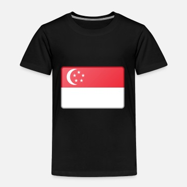 Flag Of Singapore Singapore Flag - Toddler Premium T-Shirt