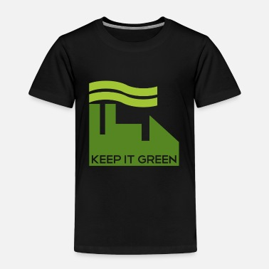 Reduce Corporate Keep Green  - Toddler Premium T-Shirt