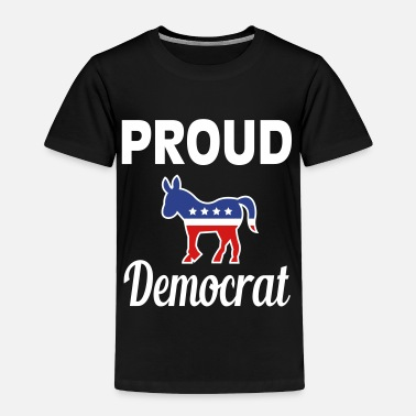 College Proud democrat - Toddler Premium T-Shirt