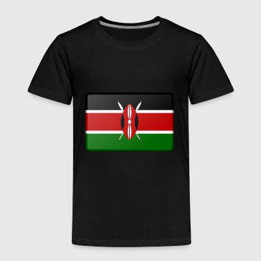 Kenya Flag - Toddler Premium T-Shirt