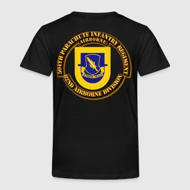 Flash - 504th Parachute Infantry Regiment - Toddler Premium T-Shirt