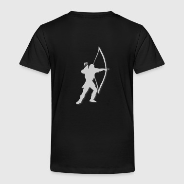 archery longbow medieval by patjila2 - Toddler Premium T-Shirt