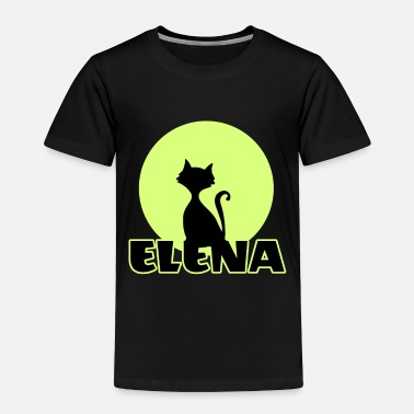 Name Day Elena Name day first name personal gift moonlight - Toddler Premium T-Shirt