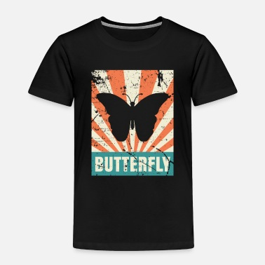 Insect Butterfly Summer Sun Wonderful - Toddler Premium T-Shirt