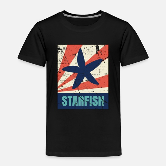 Gift Idea Baby Clothing - Starfish - Toddler Premium T-Shirt black