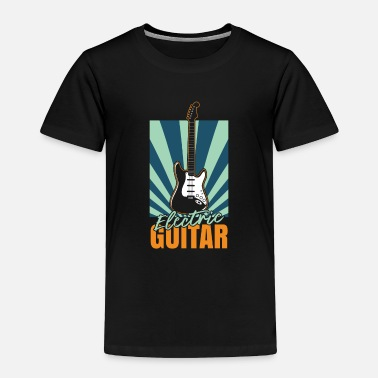 Bass Player Guitar rock band music tone notes - Toddler Premium T-Shirt