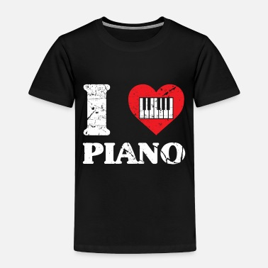 Piano Piano Concert Nobly virtuoso musician - Toddler Premium T-Shirt