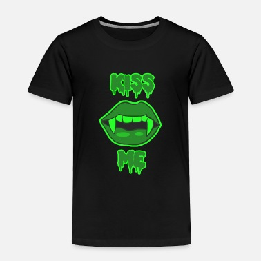 Vampire Sexy Kiss Me Halloween vampire lips - Toddler Premium T-Shirt