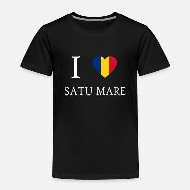 Mare Love Romania SATU MARE - Toddler Premium T-Shirt
