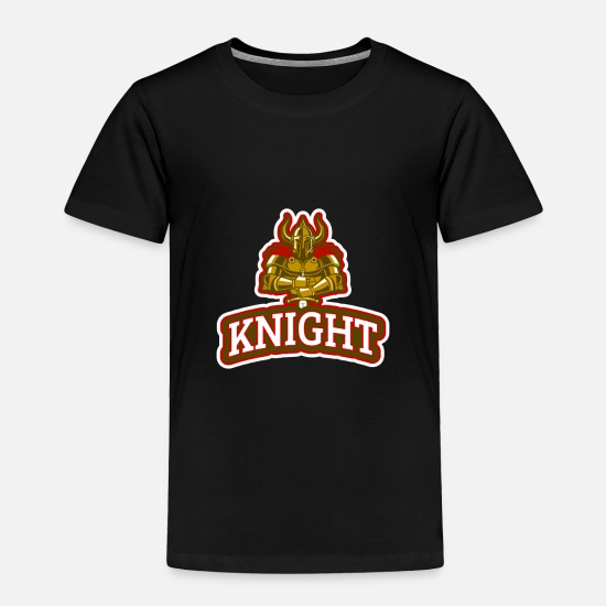 Strong Baby Clothing - Knight - Toddler Premium T-Shirt black