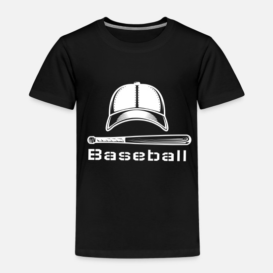 Uniform Baby Clothing - Baseball - Toddler Premium T-Shirt black