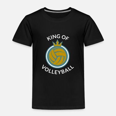 Net Volleyball - Toddler Premium T-Shirt