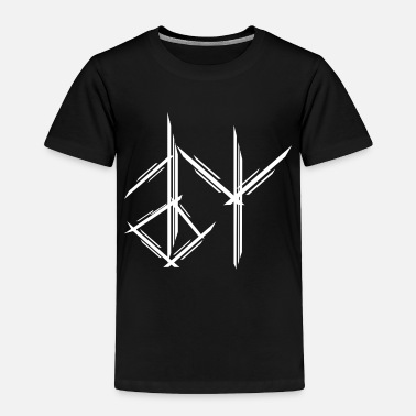 Medieval Viking Runes Icons Weapons Ax Warrior Odin - Toddler Premium T-Shirt