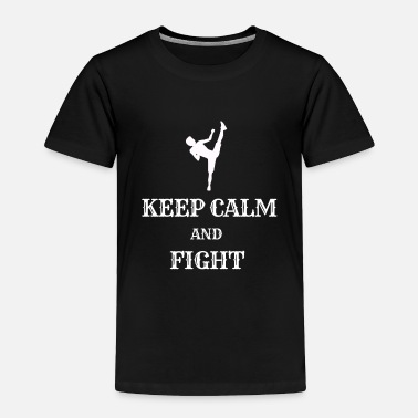 Street Fighter Martial Arts Gift Muay Thai T-Shirt Boxing Gift - Toddler Premium T-Shirt