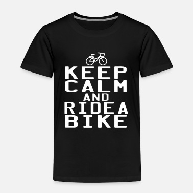 Ride Out A Cute Riding Tee For Riders Keep Calm And Ride - Toddler Premium T-Shirt
