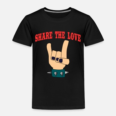 Affection A Nice Share Tee For A Sharing You Share The - Toddler Premium T-Shirt