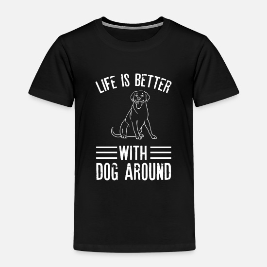 Love Baby Clothing - dog dog love dog sport agilty dog owner dogs - Toddler Premium T-Shirt black