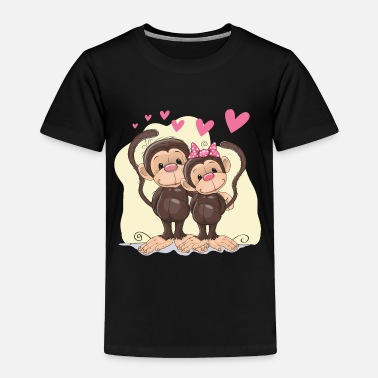 Affection Affective relationship heart - Toddler Premium T-Shirt