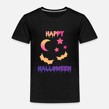 Happy Halloween bat grusel - Toddler Premium T-Shirt