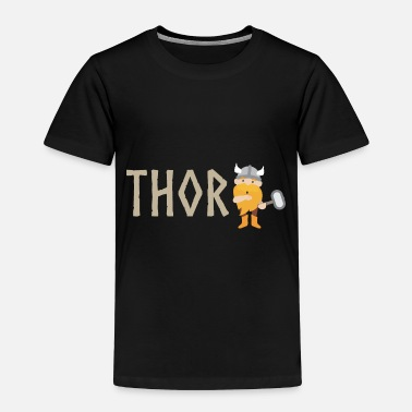 Daughter Vikings Thor Kids Funny Gift Idea - Toddler Premium T-Shirt