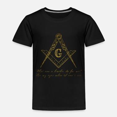 Pillars Freemason (gold) 014 - Toddler Premium T-Shirt