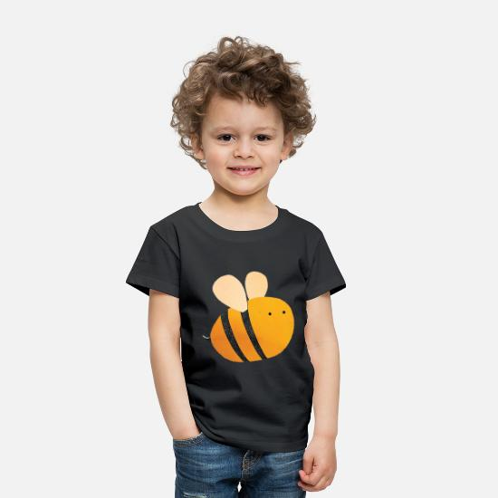 Bees Baby Clothing - bee - Toddler Premium T-Shirt black